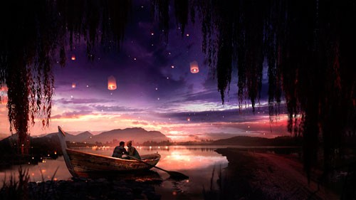 Гармоничные отношения в лодке