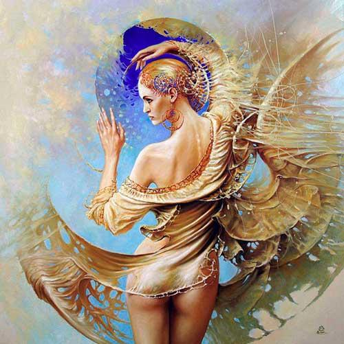 Красота и мудрость женского тела с польским художником Karol Bak