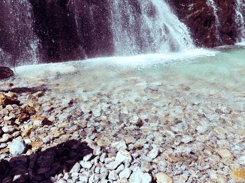 Как создавать медитации. Водопад в Абхазии